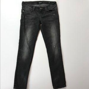 MEK Berlin Cigarette Skinny Jeans Light Gray